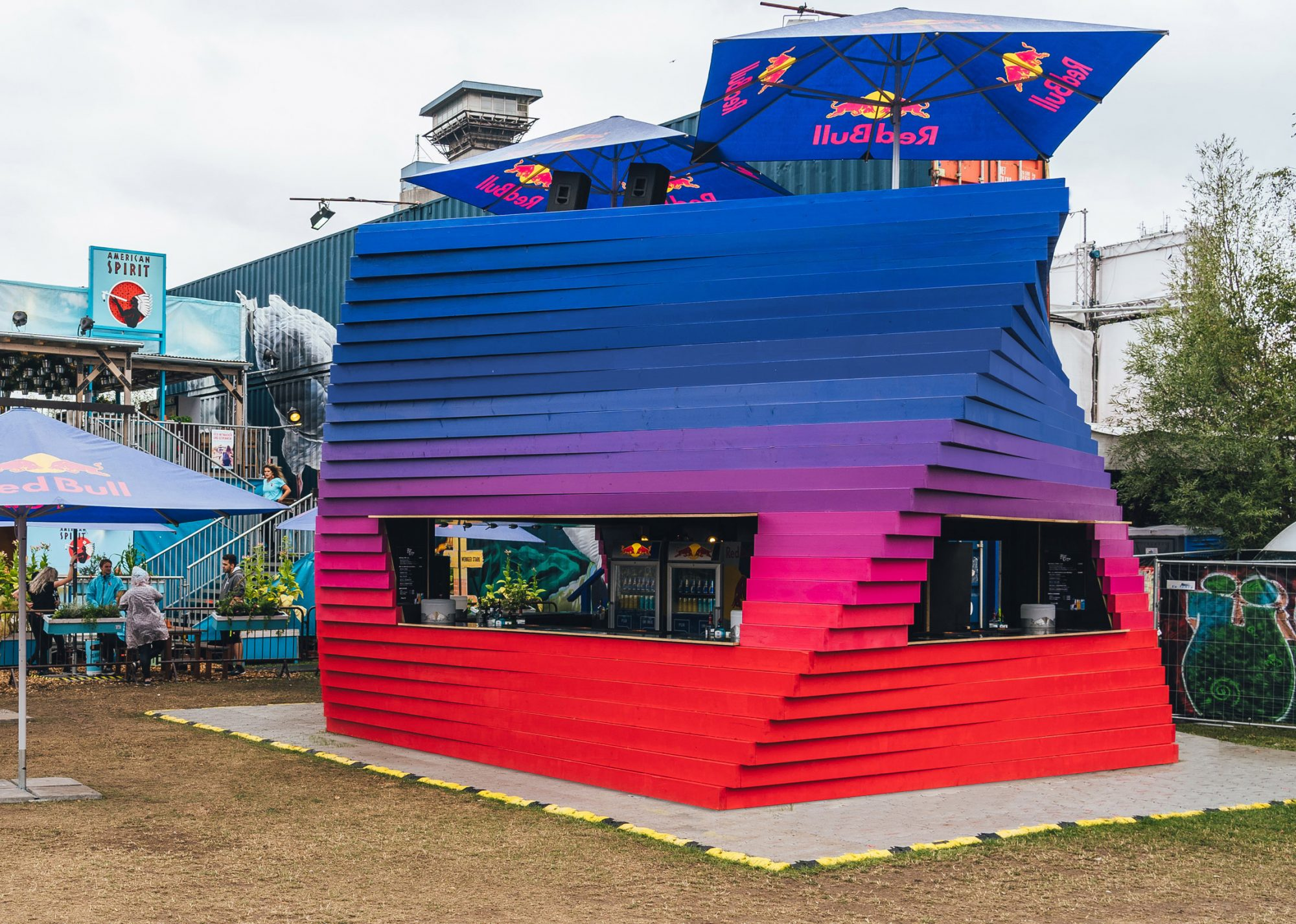 Designobjekt MS Dockville Kooperation Red Bull