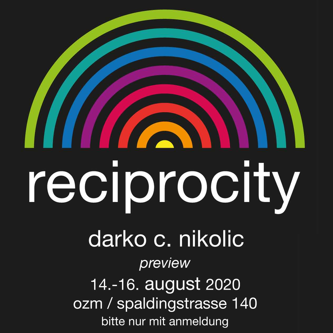 Reciprocity Daueraustellung aktuell