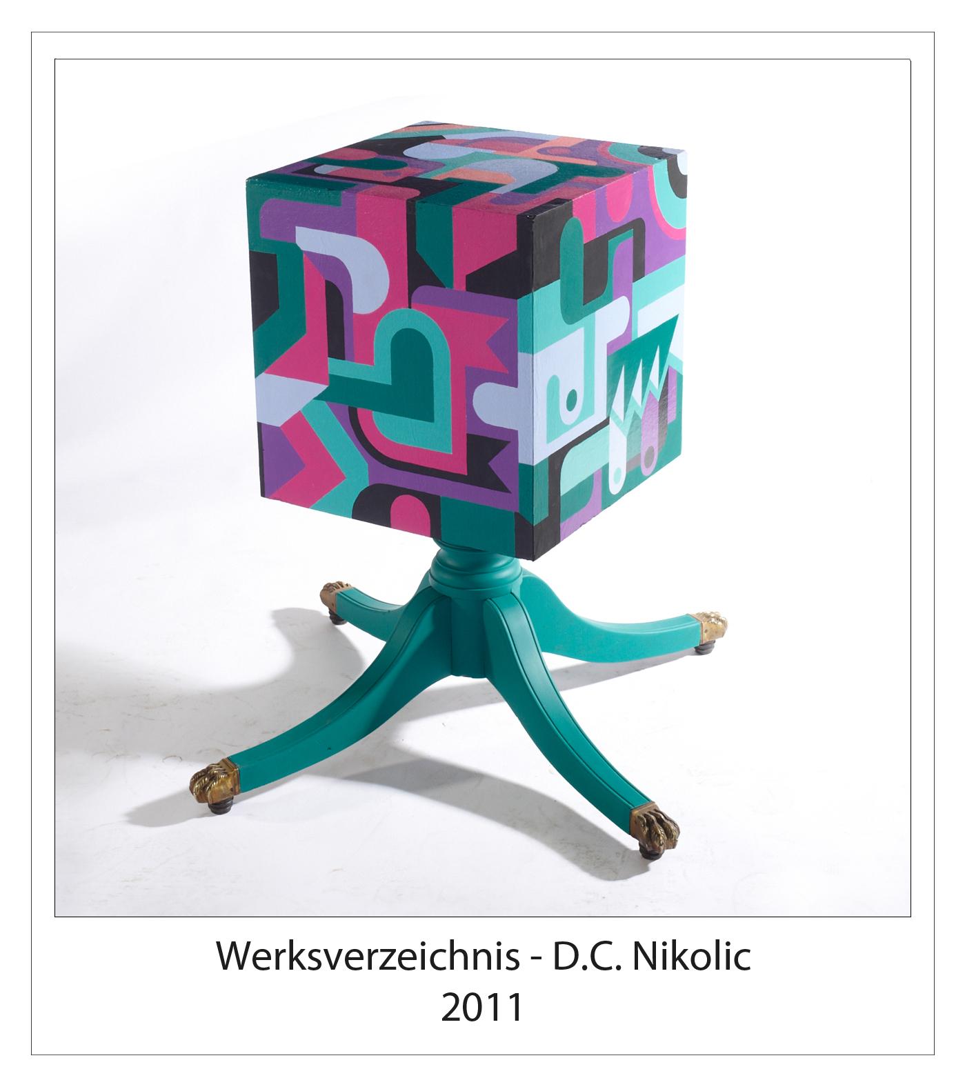 Werksverzeichnis 2011 Darko Caramello Nikolic