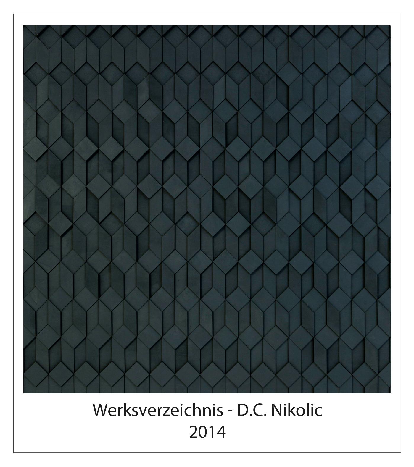 Werksverzeichnis 2014 Darko Caramello Nikolic