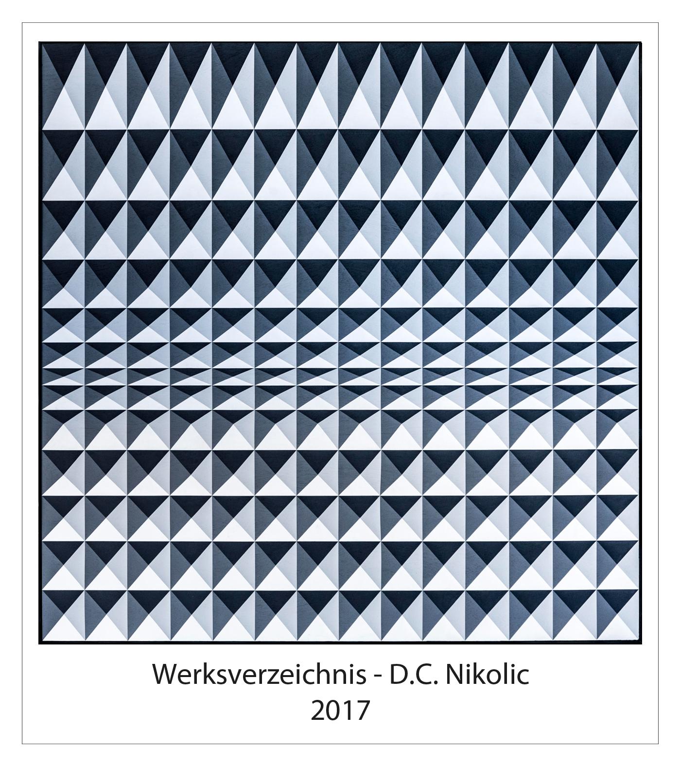 Werksverzeichnis 2017 Darko Caramello Nikolic
