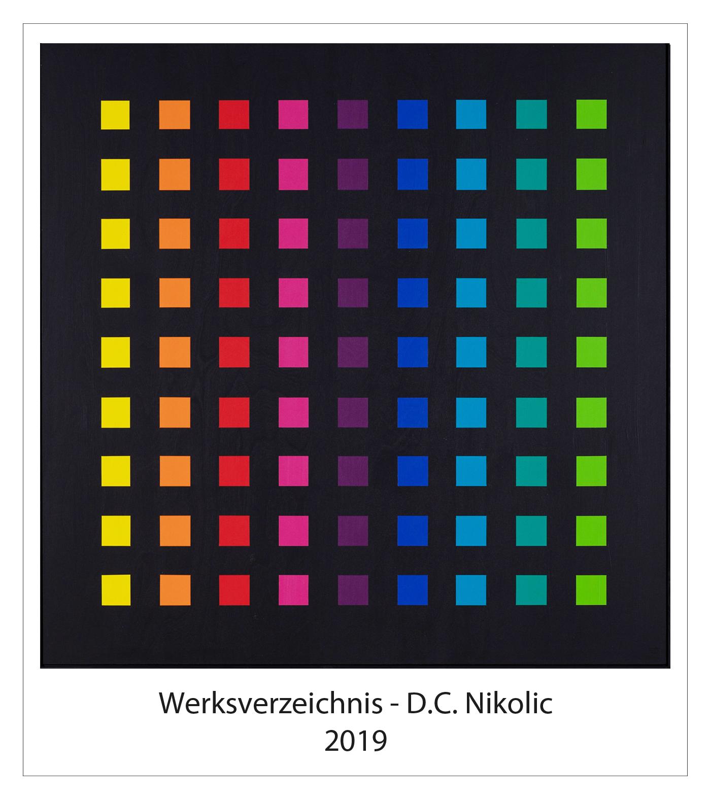 Werksverzeichnis 2019 Darko Caramello Nikolic