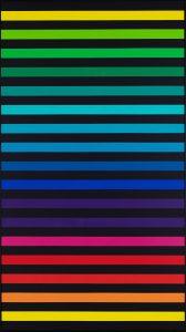 interaction of colours - Farbkreis auf Schwarz